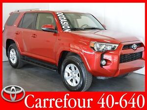 2015 Toyota 4Runner SR5 V6 4x4 Cuir+Navigation+Toit Ouvrant 7 Pa
