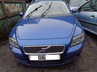 BREAKING --- Volvo V50 SE D (E4) Estate 2L Diesel 136 BHP ---- 2006