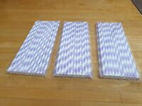 Paper drinking straws x75