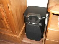 Two floor standing speakers