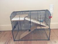 Hamster cage / hamster tank deluxe home