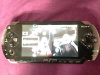 Psp 1004 model with 1 game