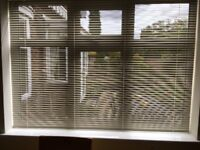 Reddish Joinery Double Glazed Window and Blind ( 3 months old )