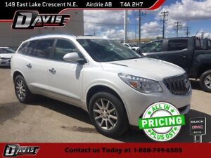2017 Buick Enclave Leather LTHR/HTD SEATS, DUAL MOONROOF, REA...