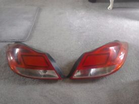 Vauxhall rear lights
