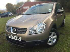 \\\ 57 REG NISSAN QASHQAI VISA \\\ IMMACULATE ONE OWNER ONLY £3250