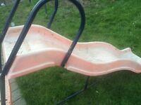 Free orange slide