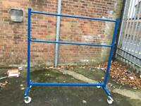 Industrial clothes rails