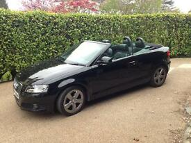 Audi A3 Cabrolet- High Spec