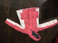 Girls pink Lands End coat