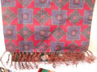 BRAND NEW!!! Man's Scarf with fringe, possibly for evening wear