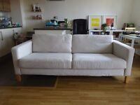 IKEA Karlstad 3 seater sofa - biege