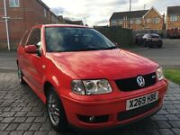 VOLKSWAGEN POLO GTI 2001 3DR RED