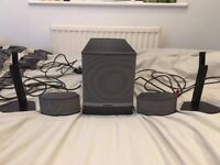 Bose Companion 5 Speaker System in very good condition