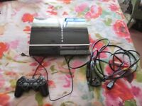 ps3 80gb console + wireless controller