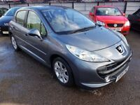 FREE MOTS AS LONG AS YOU OWN THIS CAR 2009 PEUGEOT 207 HDI 1.6 HATCH IN GREY 78K F/S/H JAN 2019 MOT