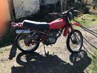 Classic Honda 1981 XL185S low mileage restoration project xl 185 s not XR