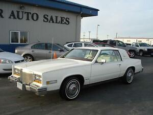 1981 Cadillac Eldorado Winnipeg vehicle 6.0L V8-6-4 variable...