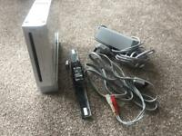 Nintendo Wii with Wii fit board