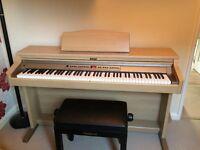 Roland HP-2e Piano, Immaculate Condition with Original Stool