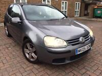 VOLKSWAGEN GOLF 1.4 2005 3DR LONG MOT DRIVES LIKE NEW HPI CLEAR... Astra focus civic polo