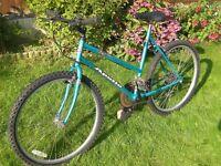 "Ladies Apollo bike, 26"" Alloy wheels, 18"" frame, 18 shimano gears."