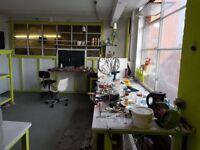 City centre Workshops /studios/Storage to rent