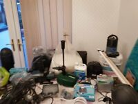Job Lot of Pond Pumps and accessories for sale cheap price due to retirement.