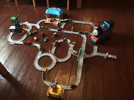 Thomas the tank train set