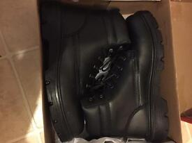 Never been worn Arco safety boots size 10