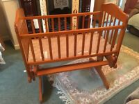 Rocking Crib for Sale - £30