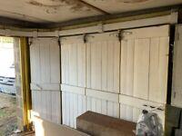Coburn vintage sliding garage door