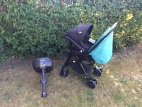 JOIE PUSHCHAIR, BABY CAR SEAT AND CAR BASE