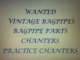 Wanted Vintage Bagpipes & Bagpipe Parts