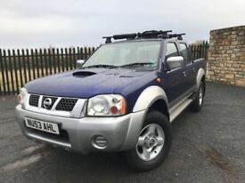 2003 53 NISSAN NAVARA 4x4 PICK UP 2.5 *DIESEL* - *NOVEMBER 2018 M.O.T* - GOOD EXAMPLE!