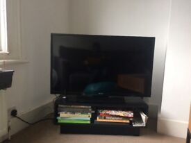 Black TV stand/ coffee table
