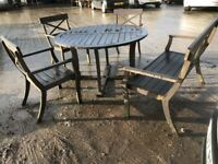 Charleston collection teak outdoor furniture set