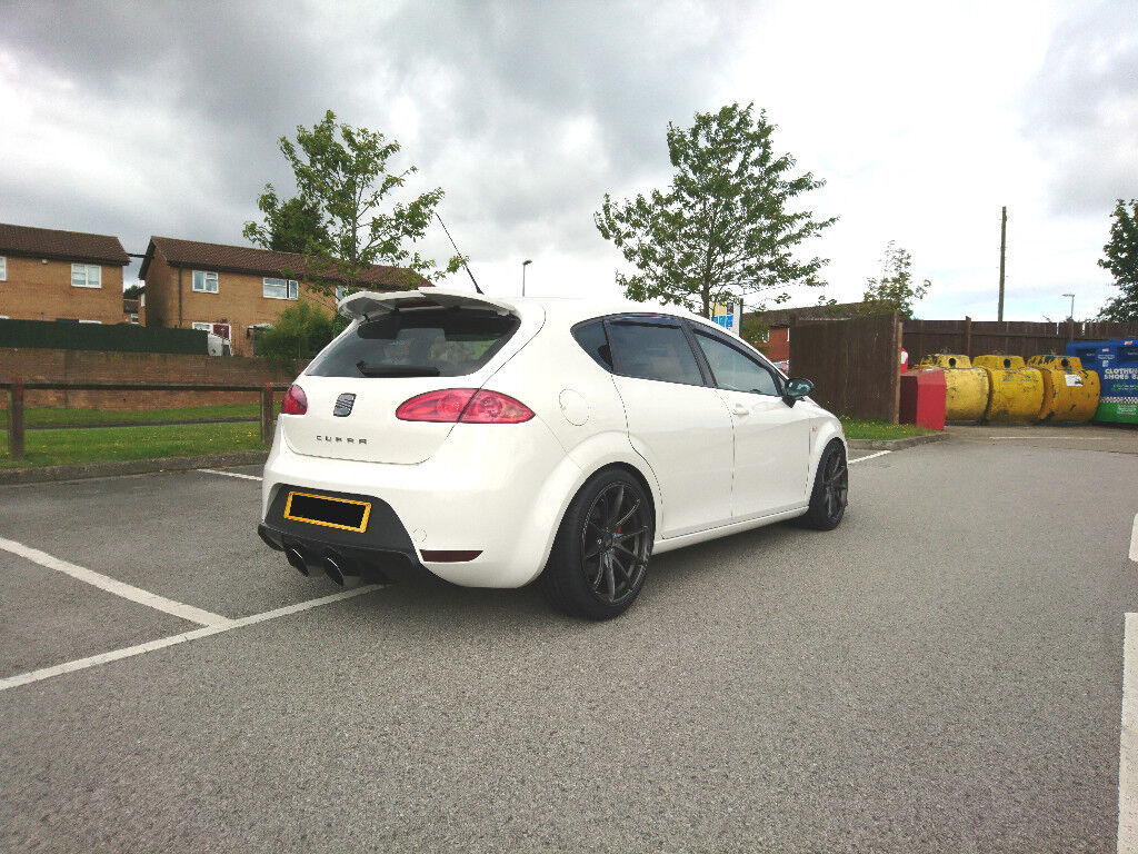 Seat Leon Cupra 2008 Stage 2+ Rare Candy White & Sunroof!! Immaculate FSH MK2 1P