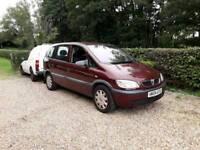 Vauxhall zafira 2004 2lt diesel 6 months mot