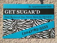 Get Sugar'd Hair Removal