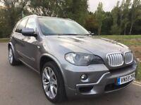 BMW X5 XDRIVE 3.0D MSPORT AUTO 59 REG, PANORAMIC ROOF, SATNAV, DVD, TV, REVERSING CAMERA, E/TAILGATE