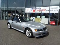 2000 V BMW Z3 1.9 Z3 ROADSTER 2d 117 BHP MOT JUL 2017 **** GUARANTEED FINANCE ****