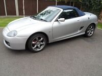 2003/03 MG TF 135 BHP LIMITED CONDITION VERY LOW MILEAGE (43000) IN VERY GOOD CONDITION