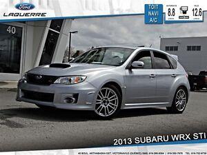 2013 Subaru WRX STi **SPORT-TECH*SUÈDE*AWD*NAVI*TOIT*A/C**