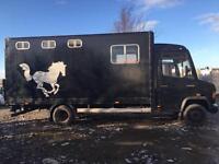 Horsebox 5.5 tonne