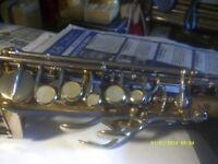 SOPRANO SAXOPHONE by ROBERT MARTEL Ser No B6481. could be RAMPONE or MALERNE ?+++++++