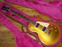 """Gibson Les Paul Classic 1960 Reissue All Gold 1990 """"Les Paul Model"""" headstock"""