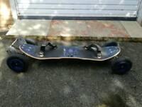 Mountainboard electric mountain board