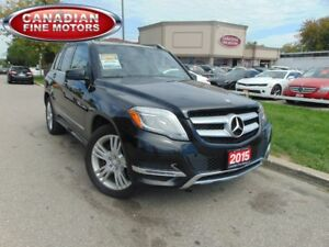 2015 Mercedes-Benz GLK-Class LEATHER ROOF-NAVI-CAM-PREM PKG