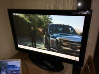 "Samsung 42"" plasma tv with stand and remote fully working"